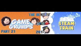 Best of Game Grumps & Steam Train 2014 (Part 21: Sakura Spirit Exclusive!)