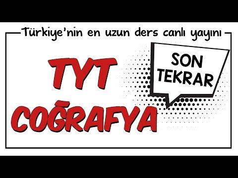 YKS - TYT Coğrafya Son Tekrar   Kamp2018