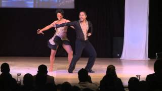William Carpenter & Kali Keller USA, Puerto Rico - World Latin Dance Cup 2012 Salsa On 1 SemiFinals