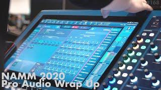 NAMM 2020 Pro Audio Round-Up & Renkus-Heinz IC Live-X Steerable Array First Look!
