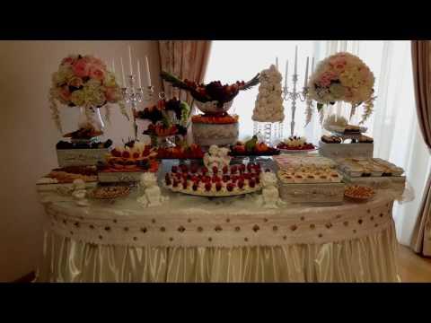 Свадебный фуршет в доме невесты.Москва 89647033868.Фея Декор