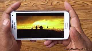 Samsung Galaxy S5 Review: Super AMOLED Full HD Display Demo