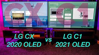 LG C1 vs LG CX | Which LG OLED Should you Buy? Head 2 Head Full Review