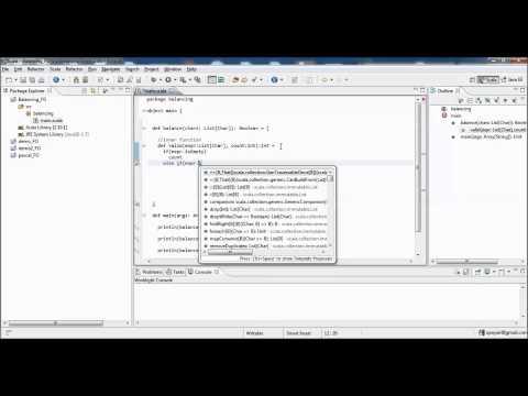 Functional Programming using Scala - Parentheses Balancing