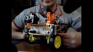 Обзор домашнего робота ver 0.3