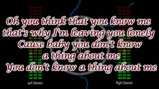 Kelly Clarkson - Mr. Know It All (OFFICIAL LYRICS VIDEO) HD HQ BEST QUALITY