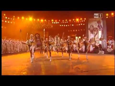 Aida - Triumphal March - Arena di Verona 2013