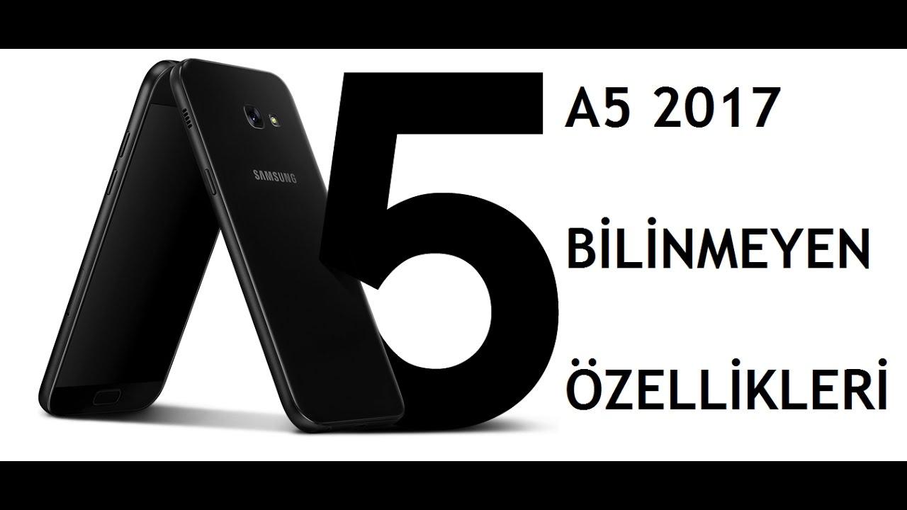 b9237e5b5e98e Samsung A5 2017 Gizli Özellikleri - YouTube