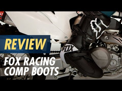 Fox Racing Comp Boots Review at YouTube
