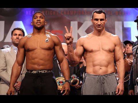 Anthony Joshua vs Wladimir Klitschko post fight video