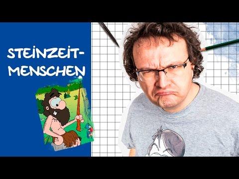 Comics zeichnen mit Tobi Wagner – STEINZEITMENSCHEN