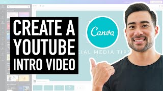 How To Make an Intro For YouTube Videos Free in Canva // How To Create a YouTube Intro screenshot 4