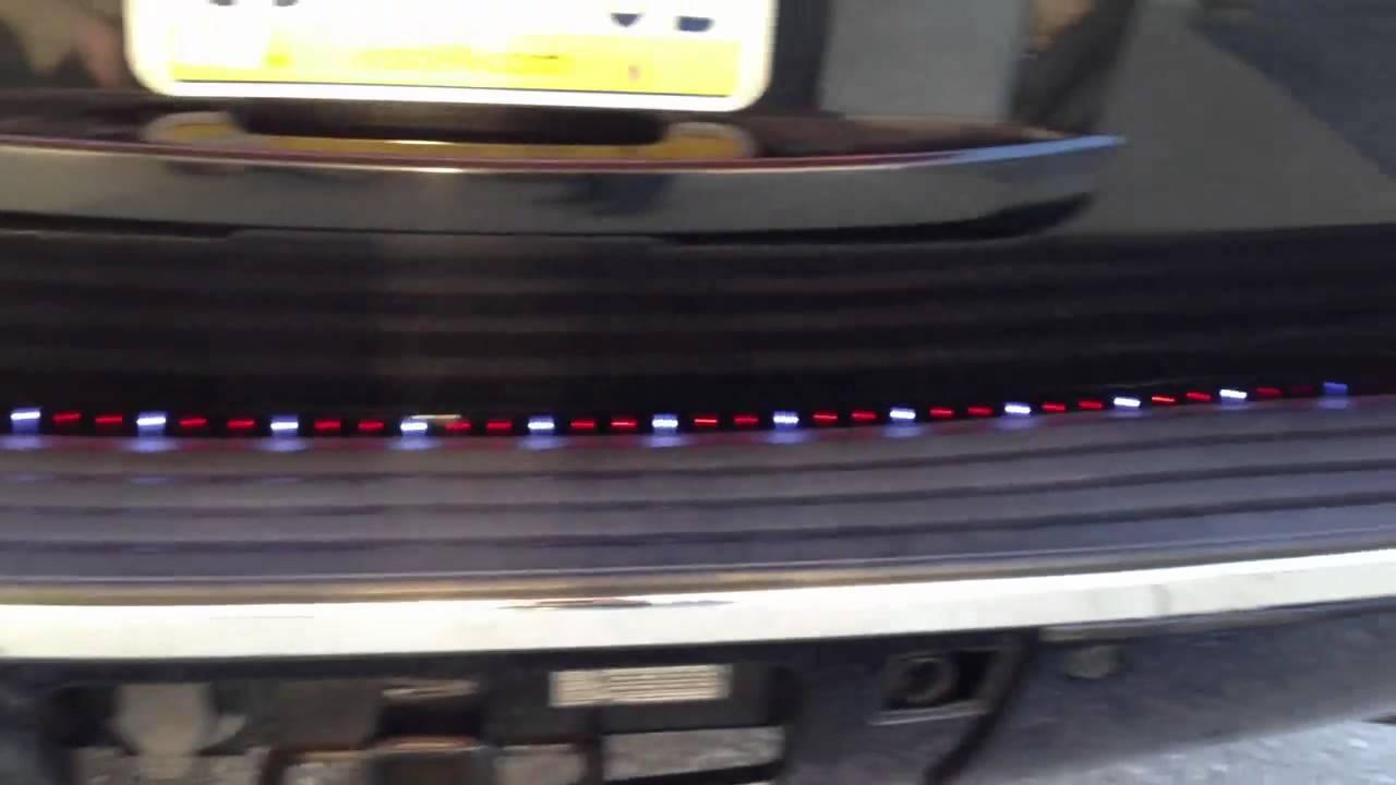Rampage light bar on a yukon youtube rampage light bar on a yukon mozeypictures Choice Image