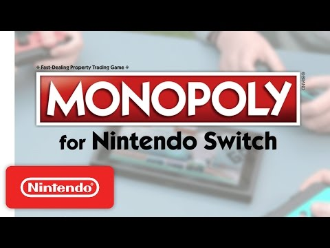 Monopoly for Nintendo Switch – Reveal Trailer