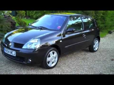 renault clio dynamique black youtube. Black Bedroom Furniture Sets. Home Design Ideas