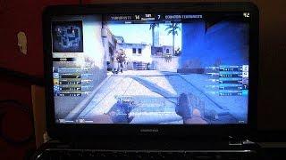 CS GO running on GT820M Core i3 laptop Compaq s103TX