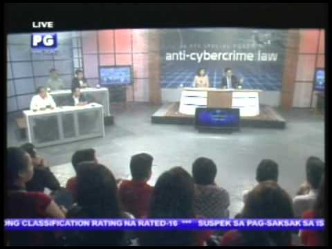 Part 1: Anti-Cybercrime Law Part II - PTV Special Forum [Oct. 05, 2012]