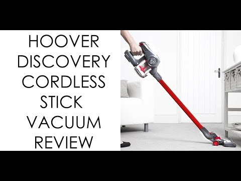 Hoover discovery cordless stick vacuum cleaner