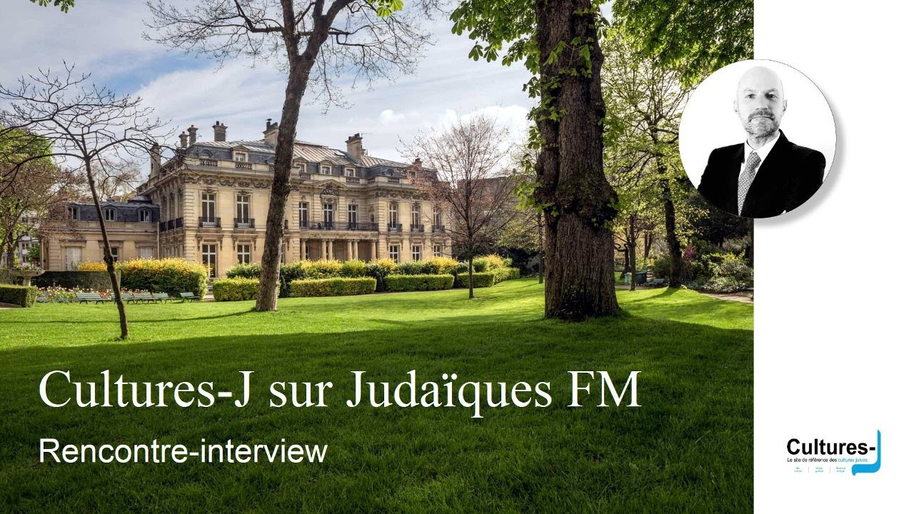 Rencontre interview avec Cultures J sur Judaïques FM