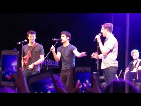 Sincerely Me Dear Evan Hansen  Darren Criss, Grant Gustin & Will Roland @ Elsie Fest 2018