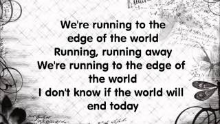 Marilyn Manson- Running to the edge of the world lyrics