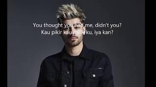 zayn entertainer lirik lagu dan terjemahan bahasa indonesia