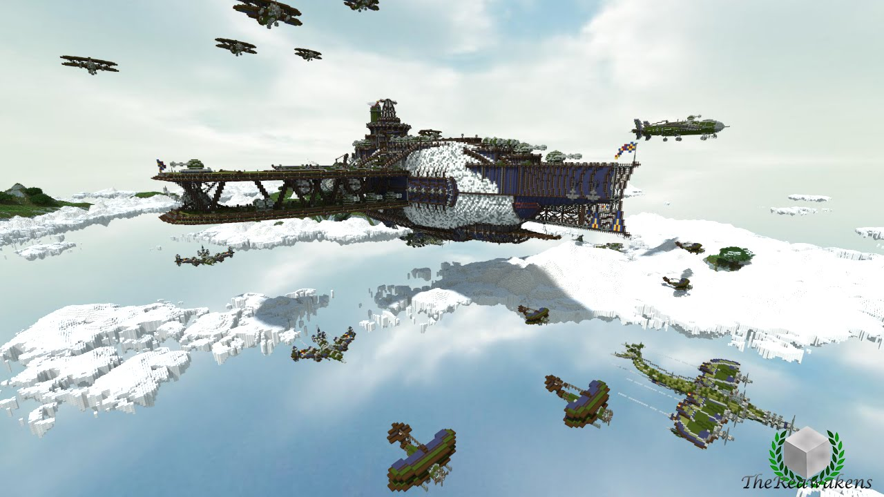 Seize the Skies   Minecraft