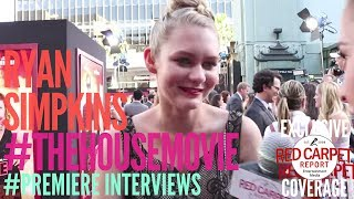 Ryan Simpkins interviewed at the Premiere of
