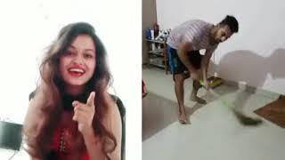 girl very happy funny clip