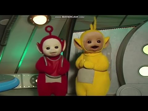 Teletubbies-Po Eats To Much Tubby Custard.