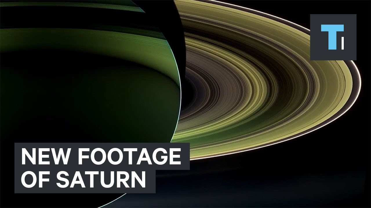 New NASA video of Saturn with stunning real images from ...