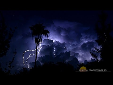 {TrueSound}™ 3 Hours of LOUD South Florida Thunderstorms (Real Audio)