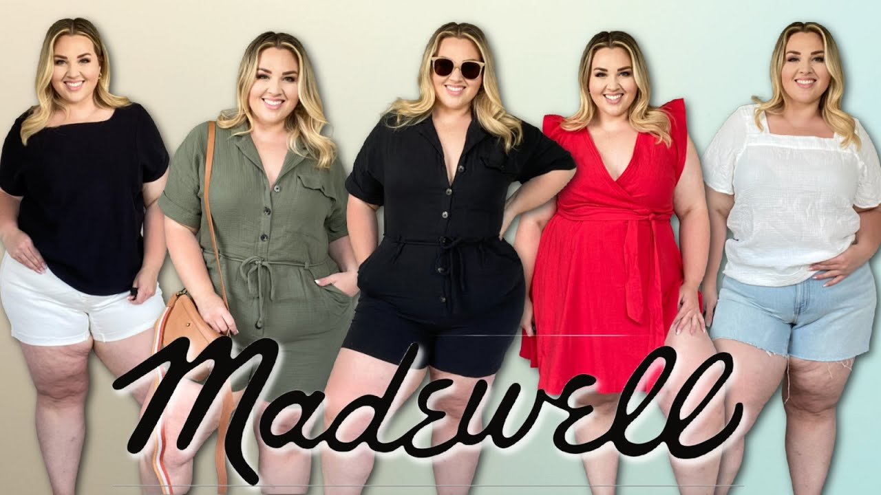 WILL IT FIT?! Madewell Summer Plus Size Try-On Haul ✨| Sarah Rae Vargas