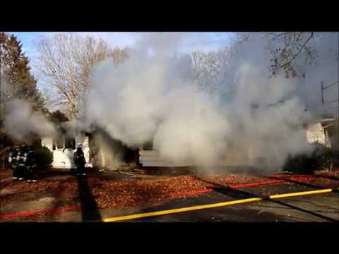 HOUSE FIRE IN EAST PATCHOGUE NY