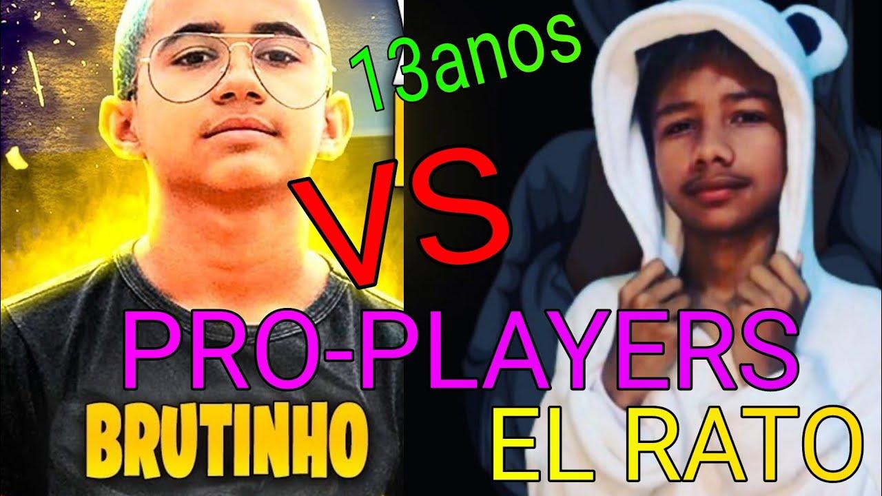 BRUTINHO vs EL RATO - PRO PLAYERS DE APENAS 13 ANOS EM CONFRONTO