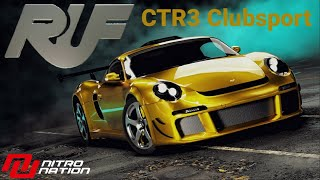 Ruf CTR3 Clubsport / Stats, Tuning and Times / Nitro Nation #63