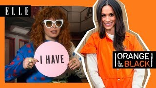 ORANGE IS THE NEW BLACK CAST WENT A LITTLE CRAZY | Season 6 | ELLE