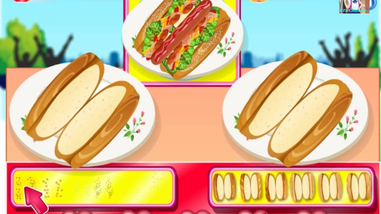 [ Review ] Chơi game tiệm bánh Hotdog , hãy thi nhau làm xem ai nhanh hơn nhé !