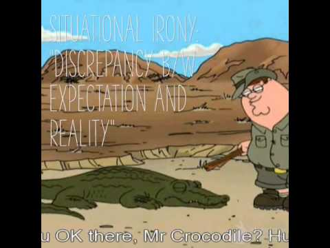 Family Guy And Situational Irony YouTube