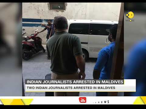 Two India journalists arrested in Maldives under state of emergency decree