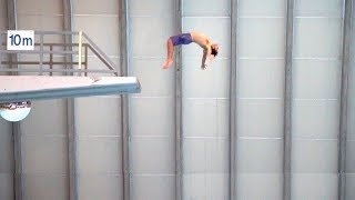 How to do Big Backflips off the 10M