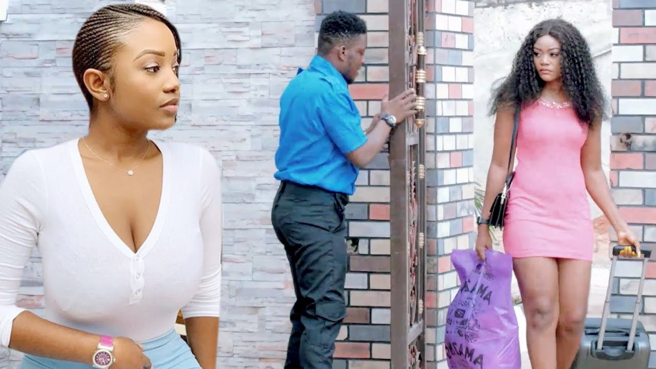 Download How The Poor Sweet Gate Man Won D Heart Of Billionaire Daughter D Day She Visited Mum-Nigerian movie