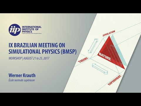 Statistical mechanics and computational physics in two dimension - Werner Krauth