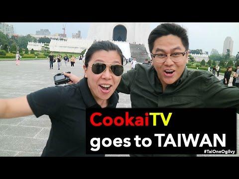 Taiwan Travel Vlog - CookaiTV Vlog #9