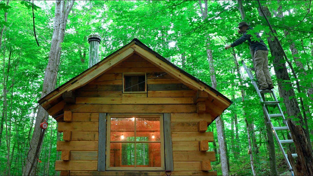 Too Much Rain! | Wood Cabin Foundation, Leather Tool Sheath, Off grid Greenhouse, Bears