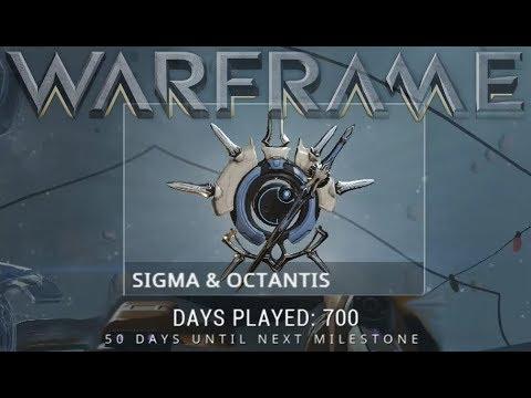 Warframe - Sigma & Octantis (700 Days Played Reward) thumbnail
