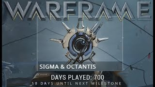 Warframe - Sigma & Octantis (700 Days Played Reward)