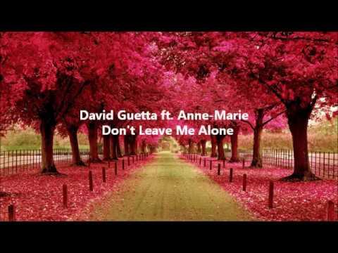 David Guetta ft Anne-Marie - Don&39;t Leave Me Alone Testo e Traduzione