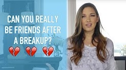 Can You Really Be Friends After a Breakup?