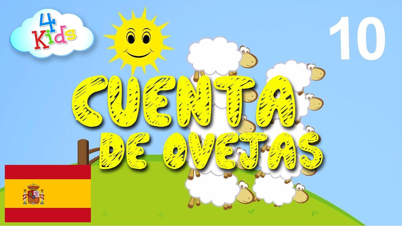 Aprender contar los númerose uno a diez Ovejas - para niños y bebés (español)